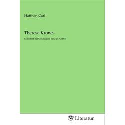 Therese Krones als Buch von
