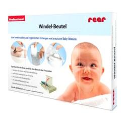 reer Windel-Beutel, Komfortable Entsorgung von benutzten Windeln, 1 Packung = 50 Stück