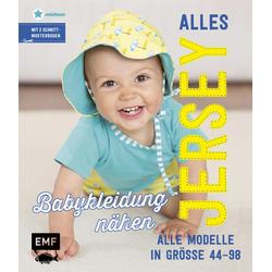 Alles Jersey - Babykleidung nähen als Buch von Maria Ludwig
