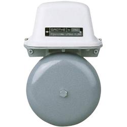 Grothe 22541 Klingel 24V (max) 105 dBA Grau, Weiß