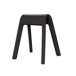 Sitzmöbel Sitzbock Wilkhahn schwarz, Designer Rudolph Schelling Webermann, 71x63x52 cm