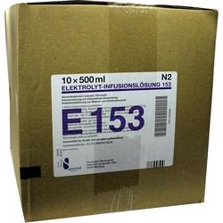 Elektrolyt-Infusionslösung 153 PE-Flasche