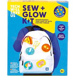 Sew & Glow Kit, Nähset leuchtender Stromkreis
