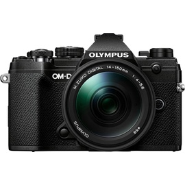 Olympus E-M5 Mark III schwarz + 14-150 mm schwarz