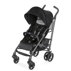 Chicco Sport-Kinderwagen Liteway³, Jet Black, mit Regenschutz; Kinderwagen, Buggy, Sportwagen, Kinder-Buggy, Kinderbuggy