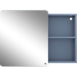 TOM TAILOR Spiegelschrank COLOR BATH mit Spiegel-Schiebetür, Breite 80 cm blau