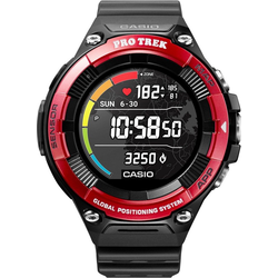 CASIO PRO TREK Smart PRO TREK Smart, WSD-F21HR-RDBGE Smartwatch (Wear OS by Google)