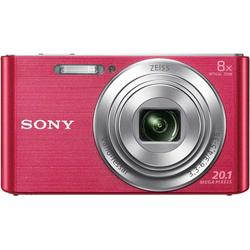 Sony DSC-W830 Kompaktkamera (ZEISS Vario-Tessar, 20,1 MP, 8x opt. Zoom) rosa