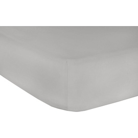 Mr Sandman Full Elastan de Luxe Jersey 90 x 200 - 100 x 220 cm chrom