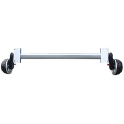 Bootstrailerachse AL-KO 1800 kg A1700 E+ 5x112 W-PROOF