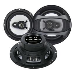 Crunch Multiroom-Lautsprecher (Crunch GTi62 - 16cm Koax- Lautsprecher)