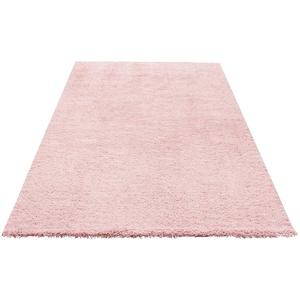 Hochflor-Teppich Desner, my home, rechteckig, Höhe 38 mm, Besonders weich durch Microfaser rosa 60x90 cm