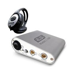 ESI -Audiotechnik Mikrofon ESI MAYA 22 USB Audio-Interface + Kopfhörer