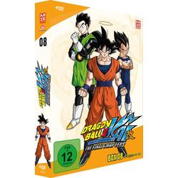 Dragonball Z Kai - Box 8/Ep.115-133  [4 DVDs]