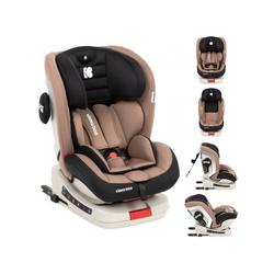Kikkaboo Autokindersitz Kindersitz Kindersitz Strong Isofix, 13.9 kg, Gruppe 0+/1/2/3 (0 - 36 kg), 5-Punkt-Gurt beige
