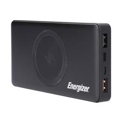 Energizer 10000 mAh schwarz Qi kompatibel Powerbank