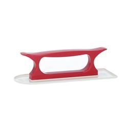 Lurch Fondant- Glätter 20,5 x 7,4 cm weiß rot