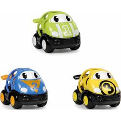 OBALL Spielzeug-Auto Go Grippers Race Car (Set, 3-tlg.) bunt Kinder Ab 2 Jahren Altersempfehlung Spielzeugfahrzeuge
