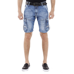 Cipo & Baxx Shorts mit schicken Cargotaschen 33
