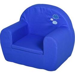 HOMCOM Kindersessel blau 53 x 35 x 44,5 cm (BxTxH)   Minisessel Polstersessel für Kinder Kinderzimmer