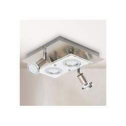 B.K.Licht LED Deckenleuchte Mercurio, LED Deckenspot Decken-Strahler Flur Wohnzimmer Deckenlampe inkl. 3W 250lm