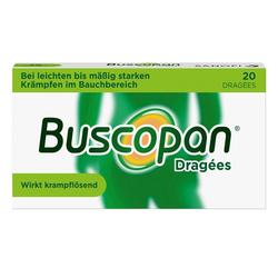 Buscopan® Dragées 20 Stück bei Bauchkrämpfen 20 St