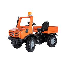 Unimog Service orange