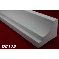 DC113 Fensterbankprofil Fenster Zierprofil 150x115mm Fassadenprofil Fassadenstuck Profil Leiste 200cm