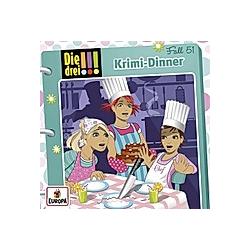 Die drei !!! - Krimi-Dinner (Folge 51) - Hörbuch