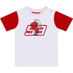 GP-Racing 93 Ant 93 Baby T-Shirt, wit-rood, 9 - 12 maanden