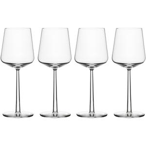 Iittala Essence Rotweingläser, transparent, 4 Stück