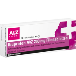 Ibuprofen AbZ 200mg
