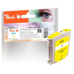 Peach Tintenpatrone gelb kompatibel zu HP No. 11 y, C4838A