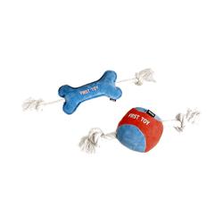 Karlie Hundespielzeug Puppy Spielzeug Knochen, Maße: 35 cm