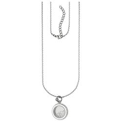 JOBO Collier, rund aus Edelstahl mit 176 Kristallen 75 cm