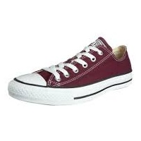 Converse All Star Ox bordeaux/ white, 36