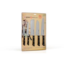 Samura Harakiri Messerset 5-teilig Schwarz