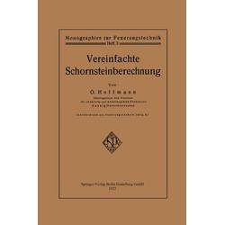 Vereinfachte Schornsteinberechnung als Buch von Otto Hoffmann