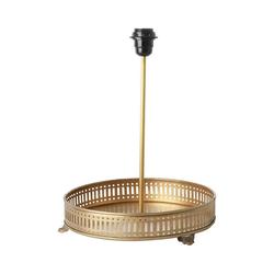 rice Tischleuchte Metall-Tischlampe mit Tablett, Ø30 cm