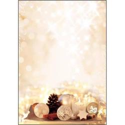 Designpapier Weihnachten Zimtsterne A4 90g/qm Papier mit Duft VE=25 Blatt