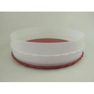 TUPPERWARE Exclusiv Hochstapler rot Kuchen Torte für Tortentwist Twist