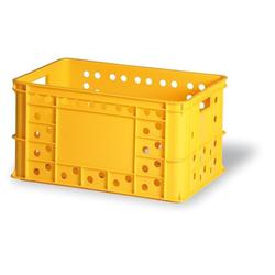 Kunststofftransportbehälter für gebäck, typ v 324-30, 600 x 400 x 324