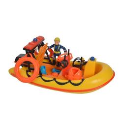 SIMBA Spielzeug-Boot Simba Spielzeugboot Neptune Rot und Gelb