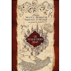 GB eye Poster Harry Potter – Marauders Map – Maxi Poster