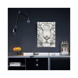 Dot On Malvorlage dot on art - tiger, 50 x 70 cm