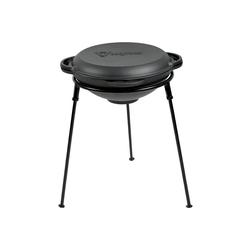 BBQ-Toro Grilltopf BBQ-Toro Kazan Set 36 cm mit Gusseisen Kasan und Ständer