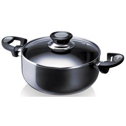 Beka Kochtopf Pro Induc, Aluminium, (1 tlg.), Induktion schwarz Gemüsetöpfe Töpfe Haushaltswaren