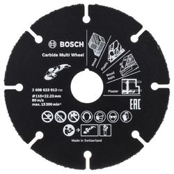 Trennscheibe Hartmetall Multi Wheel. 115 mm. 22.23mm. 1 mm