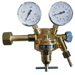 HERCULES Druckminderer Kohlensäure/Helium Druckregler Druckventil - 200 bar