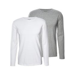 2 Langarm-Unterhemden